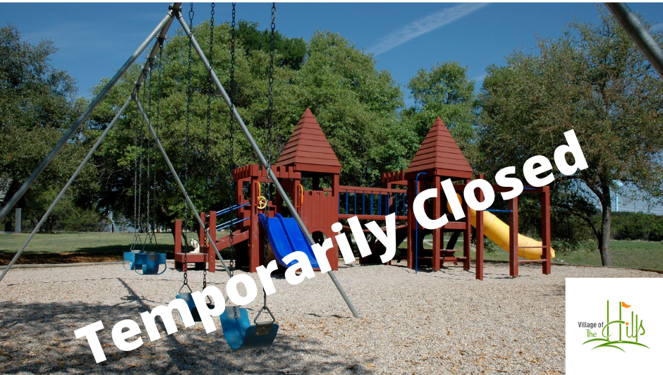 Temporarily Closed Park Facilities
